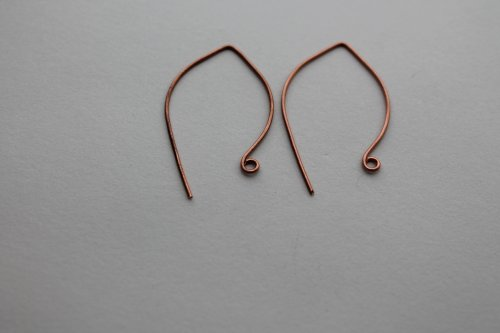 Abby Hook's Embellished Artisan Ear Wires - , Findings & Components, Toggles & Clasps, Earwire & Headpin, Lashing, Wire Lashing, Findings, Clasps, Components, close the loops