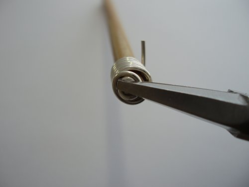 Abby Hook's Spiral Wire End Caps - Form a Spiral, , , return the cap to the mandrel