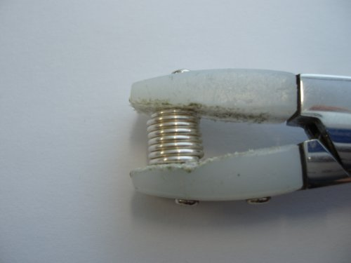 Abby Hook's Spiral Wire End Caps - Finish the Cap, , , give it another squeeze