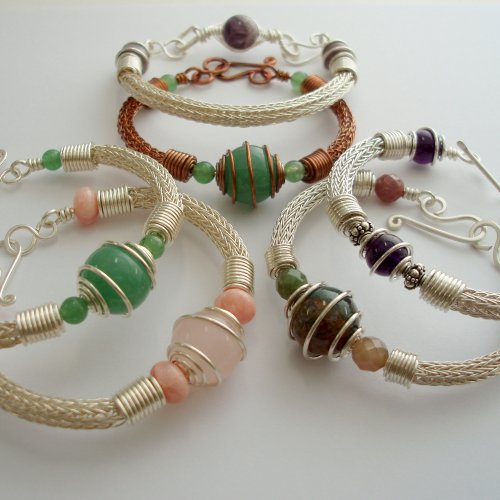 Abby Hook's Spiral Wire End Caps - Finish the Cap, , , spiral wire caps