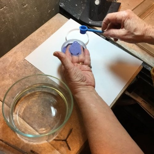 Karen Meador, Ph.D.'s Torch Enameling with Opaque Enamels - , Enameling, Enamel Jewelry Supplies, Butane Torch, Soldering, Solder, Enamel, Enameling, Enameled Jewelry, counter enamel