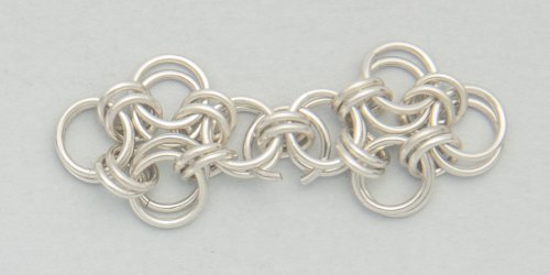 Kylie Jones's Helm Chain Pendant - , Chain Maille Jewelry, Making Chain, Chain Making , helm chain