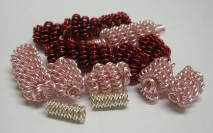 Judy Larson's How to Make a Wire Coil and Bead - , Classic Wire Jewelry, Coiling, Coiling Wire, Wire Coiling, Findings, Clasps, Components, Wire Wrapping, Wrapping, Wire Wrapping Jewelry, Coil beads