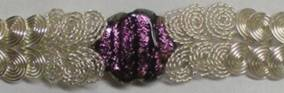 Judy Larson's Coiled Wire Jewelry Series  Part 3 - Focal Bead Bracelet - , Contemporary Wire Jewelry, Coiling, Coiling Wire, Wire Coiling, Loops, Wire Loop, Wrapped Wire Loop, Spirals, Wire Spiral, Spiral Wire Wrap, Wire Wrapping, Wrapping, Wire Wrapping Jewelry, , Graduated wire spirals