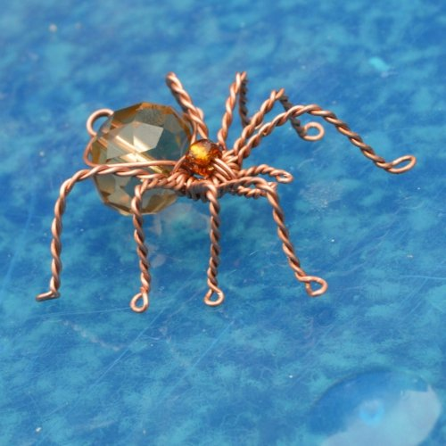 Deborah Kelly's Wire Spider Ornament - , Holiday Designs, , wire spider