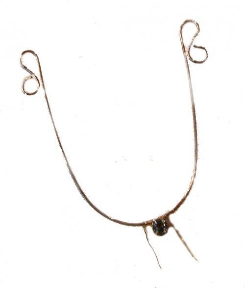 Bonnie Triolas Gemstone Filigree Earrings