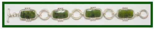 Double Delight Jade Bracelet