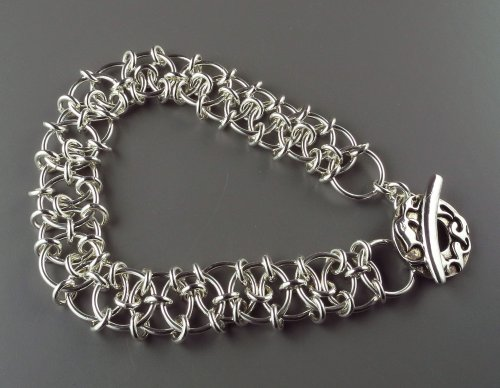 Marilyn Gardiner's Japanese Origami Bracelet | Chain ... - photo#39