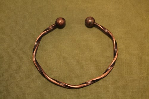 Twisted Copper Wire Cuff