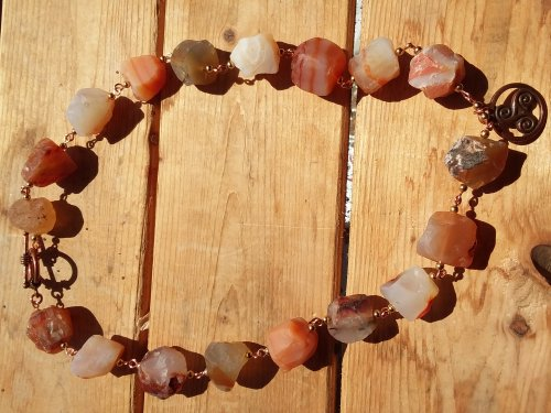 Celtic Carnelian Necklace
