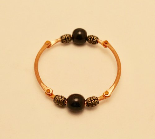 Articulated Copper Wire Bracelet