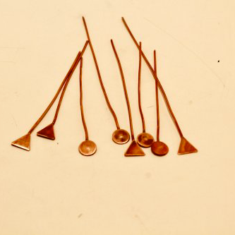 Judy Freyer Thompson's Geometric Headpins, Findings & Components, Toggles & Clasps, Earwire & Headpin. Cutting, Cutting Tool, Cutters, Butane Torch, Soldering, Solder. Purchased headpins are an excellent time saver when you are facing a deadline.