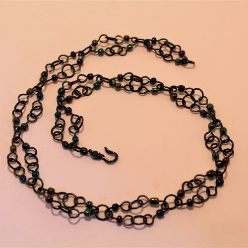 Beaded Steel Wire Chain
