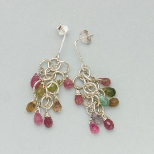 Kylie Jones's No-solder Post Ear Wires, Findings & Components, Toggles & Clasps, Earwire & Headpin. Filing, Finishing. These post style ear wires add a new style dimension to your earrings.