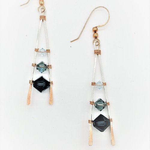 Fading Ladder Earrings