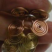 Coiled Wire Jewelry Series Part 2 - Egyptian Coil Bracelet