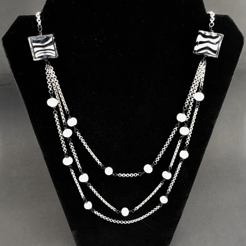 Tuxedo Junction Necklace