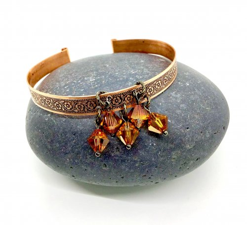 Kansas Tornado Daisy Chain Bangle