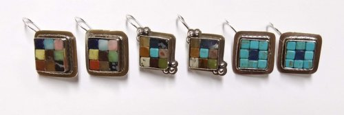 Cobblestone Cab Earrings