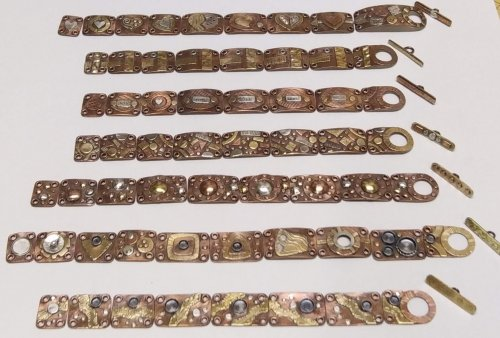 Mixed Metal Sampler Bracelet 1