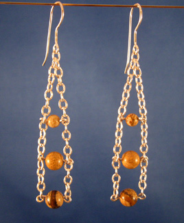 Chain Ladder Earrings