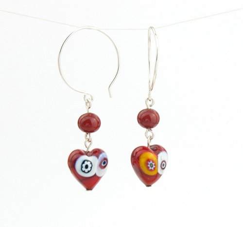 Kylie Jones's Change Up Your Ear Wires - , Wire Jewelry Design, Design, round ear wire