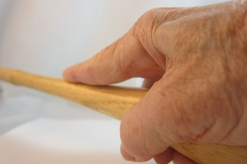 Karen Meador, Ph.D.'s Holding a Jewelry Hammer Properly - , Tool Tips, , don't extend your index finger