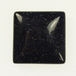 Dale Armstrong's Wrapping Cabochons - , Wire Jewelry Design, Wire Wrapping, Wrapping, Wire Wrapping Jewelry, Weaving, Wire Weaving, Weaving Wire, Design, , Blue Goldstone 25mm Square Cabochon