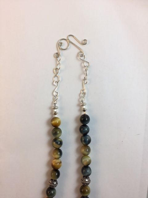 Karen Meador, Ph.D.'s When I Run Out of Beads - , Wire Jewelry Design, Making Chain, Chain Making , Loops, Wire Loop, Wrapped Wire Loop, Design, wire links