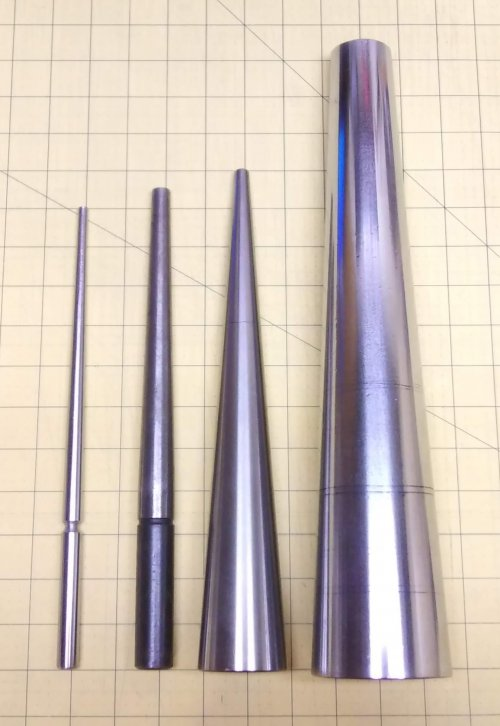 Judy Larson's Round Mandrels - , Tools For Wire Jewelry, Tools, round mandrels