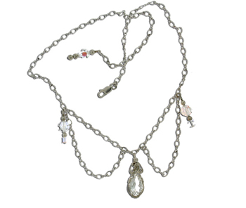 Dale Armstrong's Chain Lavaliere - , Tools For Wire Jewelry, Making Chain, Chain Making , Chain Lavaliere