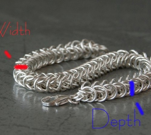 Sizing a Chain Maille Bracelet