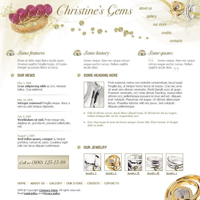 Jewelry Website Templates: Wire Jewelry | Wire Wrap Tutorials ...