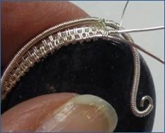 Pearl of the Sea Woven Pendant