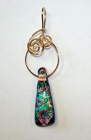 Brandon Park Pendant Wire Jewelry Wire Wrap Tutorials