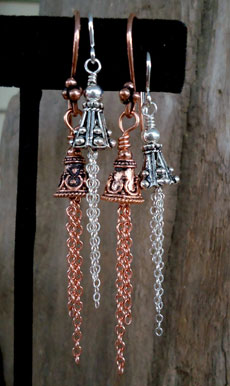 Temple Bells Earring Pattern