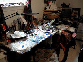 Sherrie's Jewelry Workspace