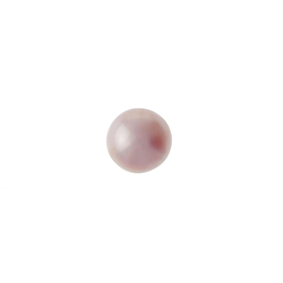 White Mabe Pearl 9 to 10mm  - Pack of 1