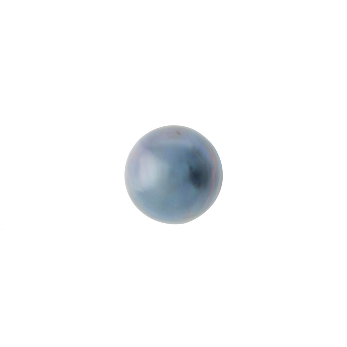 Blue Mabe Pearl 9 to 11mm  - Pack of 1