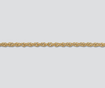 Gold Filled Chain Rope 1.37mm - 18 inches - Pack of 1