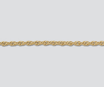 Gold Filled Chain Rope 1.63mm - 24 inches - Pack of 1