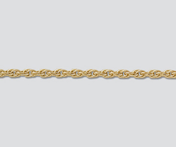 Gold Filled Chain Rope 1.85mm - 18 inches - Pack of 1