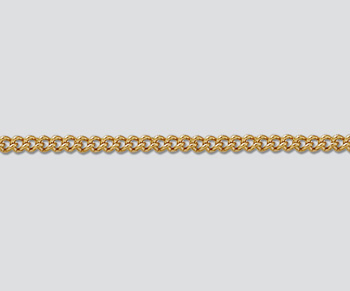 Gold Filled Curb Chain 2.1mm - 10 Feet