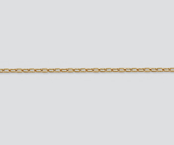Gold Filled Drawn Cable Chain 2x1mm - 10 Feet