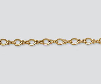 Gold Filled Figure 8 Chain 3x2.1mm - 10 Feet