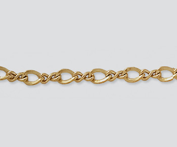 Gold Filled Figure 8 Chain 4.6x2.9mm - 10 Feet