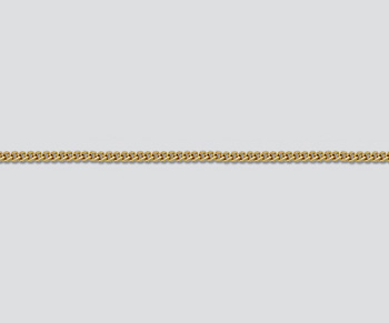 Gold Filled Small Flat Curb Chain 1.08mm  - 10 Feet