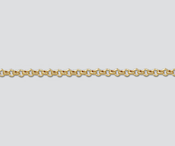Gold Filled Small Rolo Chain 2.3mm - 10 Feet