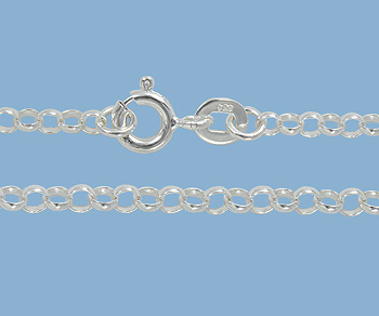 Sterling Silver Rolo Chain 2.5mm 24 inch - Pack of 1