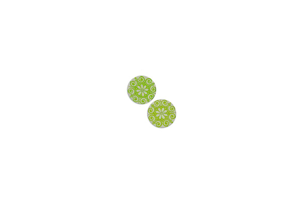 "Lillypilly - Lime Cleopatra - 5/8"" Disc (PKG 2)"